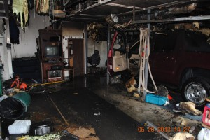 Initial Fire Damage